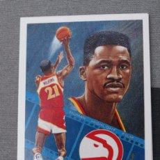 Coleccionismo deportivo - 79 DOMINIQUE WILKINS ATLANTA HAWKS TRADING CARD NBA UPPER DECK 1991 - 31222306