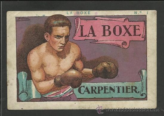 LA BOXE - COL. COMPLETA 25 CROMOS -EXPLICACION TECNICA DEL BOXEO - VER FOTOS ADIC. - (CD-21) (Coleccionismo Deportivo - Cromos otros Deportes)