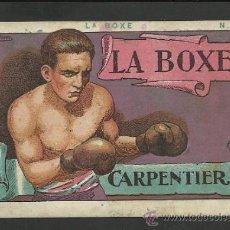 Coleccionismo deportivo: LA BOXE - COL. COMPLETA 25 CROMOS -EXPLICACION TECNICA DEL BOXEO - VER FOTOS ADIC. - (CD-21). Lote 31230252