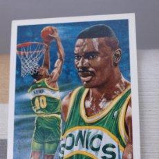 Coleccionismo deportivo: 96 SHAWN KEMP SEATTLE SUPERSONICS TRADING CARD NBA UPPER DECK 1991. Lote 235361290