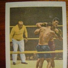 Coleccionismo deportivo: TUNNEY - DEMPSEY DURANTE EL MATCH ( COLECCIONES AMATLLER ) BOXEO. Lote 31310600