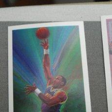 Coleccionismo deportivo: 380 KARL MALONE UTAH JAZZ CARD NBA HOOPS 1990 NUEVO DE SOBRE. Lote 235361660
