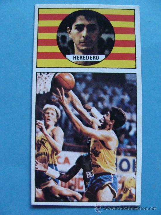 CROMO DE BALONCESTO. CACAOLAT. HEREDERO 30. AÑO 1986 MERCHANTE CONVERSE. (Coleccionismo Deportivo - Cromos otros Deportes)