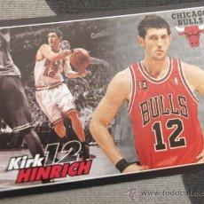 Coleccionismo deportivo: 66 KIRK HINRICH CHICAGO BULLS CROMO STICKER CARD BALONCESTO NBA BASKET PANINI 2009-10. Lote 54863175