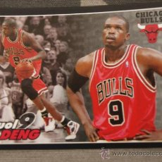 Coleccionismo deportivo: 58 LUOL DENG CHICAGO BULLS CROMO STICKER CARD BALONCESTO NBA BASKET PANINI 2009-10. Lote 33800070