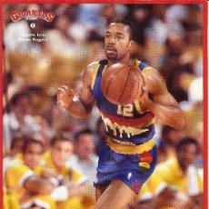 Coleccionismo deportivo: COLECCIÓN PEGATINAS BALONCESTO NBA Y ACB GIGANTES DEL BASKET. CASI COMPLETO!!. Lote 35019920