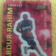 Coleccionismo deportivo: NBA 1996 1997 UPPER DECK BALONCESTO 147-SHAREEF ABDUR-RAHIM. Lote 35427864