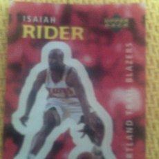 Coleccionismo deportivo: NBA 1996 1997 UPPER DECK BALONCESTO 98-ISAIAH RIDER. Lote 35428105