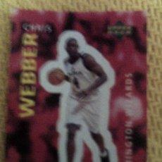 Coleccionismo deportivo: NBA 1996 1997 UPPER DECK BALONCESTO 332-CHRIS WEBBER. Lote 35466768