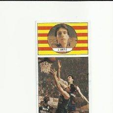 Coleccionismo deportivo: 8 J. ORTIZ (BARCELONA) J MERCHANTE 1986-1987 CONVERSE 86-87 - . Lote 36507446