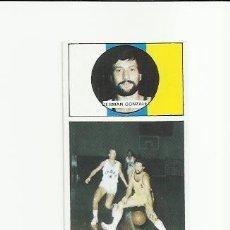 Coleccionismo deportivo: 87 GERMAN GONZALEZ (CANARIAS) J MERCHANTE 1986-1987 CONVERSE 86-87 - . Lote 36507499