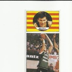 Coleccionismo deportivo: 94 MARGALL (JOVENTUT) J MERCHANTE 1986-1987 CONVERSE 86-87 - . Lote 36507517