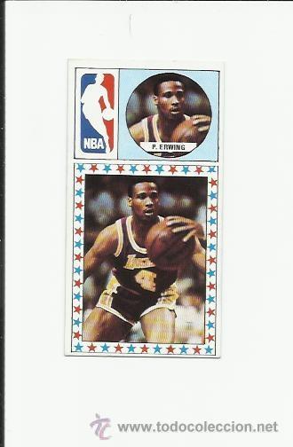 165 PATRICK ERWING (NEW YORK KNICKS) J MERCHANTE 1986-1987 CONVERSE 86-87 - (Coleccionismo Deportivo - Cromos otros Deportes)