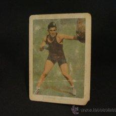 Coleccionismo deportivo: CROMO DE BOXEO - UZCUDUN (ENTRENANDOSE) - Nº 20 - CHOCOLATE AMATLLER - . Lote 37158810