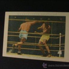 Coleccionismo deportivo: CROMO DE BOXEO - SPALLA - UZCUDUN EN EL COMBATE - Nº 24 - CHOCOLATE AMATLLER - . Lote 37160466