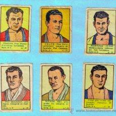 Coleccionismo deportivo: LOTE DE CROMOS. CROMOS SUELTOS; 2,00 €. BOXEADORES. CROMOS DEPORTES E INSTRUCCION. ED. VALENCIANA.. Lote 37334174