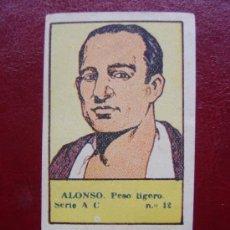 Coleccionismo deportivo: CROMOS DEPORTES VALENCIANA1941Nº12 ALONSO PESO LIGERO BOXEO. Lote 37323717
