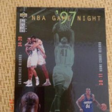Coleccionismo deportivo - 1997 UPPER DECK NBA GAME NIGHT 158-CHARLOTTE HORNETS - 38375937