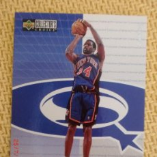 Coleccionismo deportivo: UPPER DECK COLLECTOR´S CHOICE NBA 1997 STAR QUEST 38 CHARLES OAKLEY. Lote 38432461