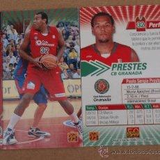 Coleccionismo deportivo: #159 PAULO PRESTES BRASIL GRANADA CROMO CARD BALONCESTO ACB 2010-11 NUEVO . Lote 38488593