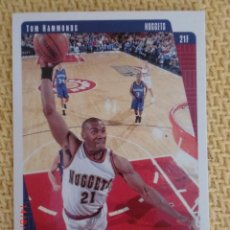 Coleccionismo deportivo: UPPER DECK COLLECTOR´S CHOICE NBA 1997 - 37 TOM HAMMONDS. Lote 38686403