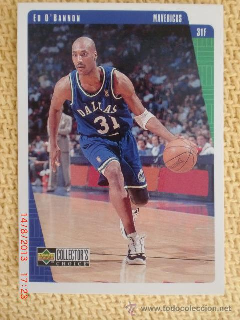 Coleccionismo deportivo: UPPER DECK COLLECTOR´S CHOICE NBA 1997 - 29 - ED OBANNON - Foto 1 - 38689875
