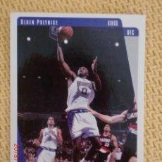 Coleccionismo deportivo: UPPER DECK COLLECTOR´S CHOICE NBA 1997 - 122 - OLDEN POLYNICE. Lote 38690843