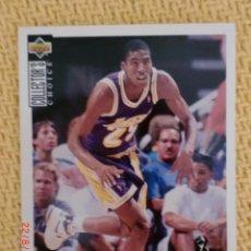 Coleccionismo deportivo: UPPER DECK 1994 COLLECTOR'S CHOICE - 296 - EDDIE JONES. Lote 38716190