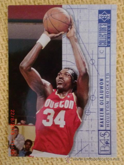 UPPER DECK 1994 COLLECTOR'S CHOICE - 381 - HAKEEN OLAJUWON (Coleccionismo Deportivo - Cromos otros Deportes)