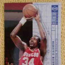 Coleccionismo deportivo: UPPER DECK 1994 COLLECTOR'S CHOICE - 381 - HAKEEN OLAJUWON. Lote 38716457
