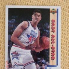Coleccionismo deportivo: UPPER DECK. TEMPORADA 1992 - 13 - BRAD DAUGHERTY. Lote 38726914