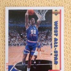 Coleccionismo deportivo: UPPER DECK. TEMPORADA 1992 - 19 - DAVID ROBINSON. Lote 38726924