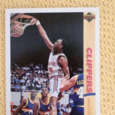 Coleccionismo deportivo: UPPER DECK. TEMPORADA 1992 - 61 - DANNY MANNING. Lote 38726991