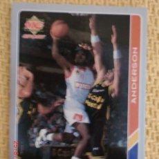 Coleccionismo deportivo: FICHAS ACB 95 - 165 - MICHAEL LEVIN ANDERSON. Lote 38754364
