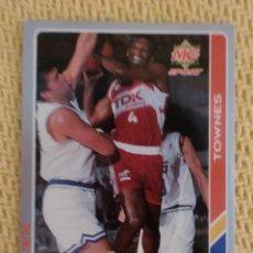 Coleccionismo deportivo: FICHAS ACB 95 - 93 - LINTON TOWNES. Lote 38754681