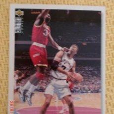 Coleccionismo deportivo: NBA UPPER DECK 1995 - 32 - JR REID. Lote 38767234