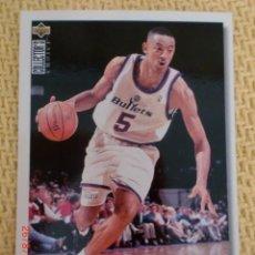 Coleccionismo deportivo: NBA UPPER DECK 1995 - 38 - JUWAN HOWARD. Lote 38767260