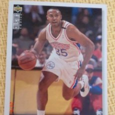 Coleccionismo deportivo: NBA UPPER DECK 1995 - 125 - CLARENCE WEATHERSPOON. Lote 38768052