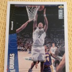 Coleccionismo deportivo: NBA 1996 - 97 UPPER DECK COLLECTOR'S CHOICE - 35 - TONY DUMAS. Lote 38944535