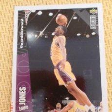 Coleccionismo deportivo: NBA 1996 - 97 UPPER DECK COLLECTOR'S CHOICE - 75 - EDDIE JONES. Lote 38946241