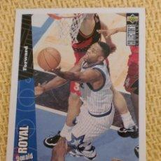 Coleccionismo deportivo: NBA 1996 - 97 UPPER DECK COLLECTOR'S CHOICE - 108 - DONALD ROYAL. Lote 38946637