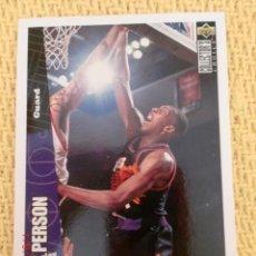 Coleccionismo deportivo: NBA 1996 - 97 UPPER DECK COLLECTOR'S CHOICE - 125 - WESLEY PERSON. Lote 38946723