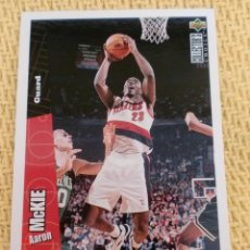 Coleccionismo deportivo: NBA 1996 - 97 UPPER DECK COLLECTOR'S CHOICE - 130 - AARON MCKIE. Lote 38946736