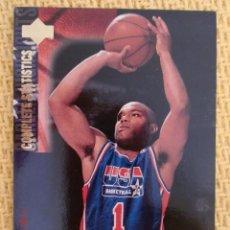Coleccionismo deportivo: UPPER DECK 1994 USA BASKETBALL - 18 - TIM HARDAWAY. Lote 38968894
