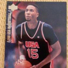 Coleccionismo deportivo: UPPER DECK 1994 USA BASKETBALL - 44 - ALONZO MOURNING. Lote 38970392