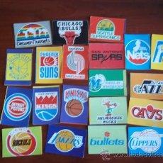 Coleccionismo deportivo: NBA - CROMOS ANTIGUOS ESCUDOS DE LA NBA ( L-7 ). Lote 39008014
