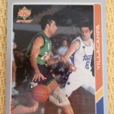Coleccionismo deportivo: MUNDICROMO FICHAS ACB 95. - 30 - JORDI VILLACAMPA. Lote 39057410