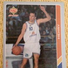 Coleccionismo deportivo: MUNDICROMO FICHAS ACB 95. - 113 - CONNER HENRY. Lote 39058981