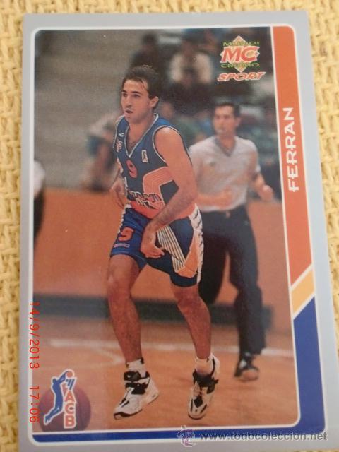 MUNDICROMO FICHAS ACB 95. - 159 - FERRAN HERAS (Coleccionismo Deportivo - Cromos otros Deportes)