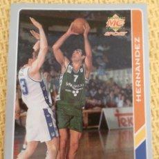Collezionismo sportivo: MUNDICROMO FICHAS ACB 95. - 184 - JOSE HERNANDEZ. Lote 39060185